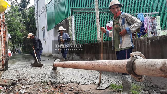 TP.HCM: Huyện Củ Chi bê tông hóa hàng loạt tuyến đường khắc phục vi phạm quản lý Nhà nước về đất đai - Ảnh 1.
