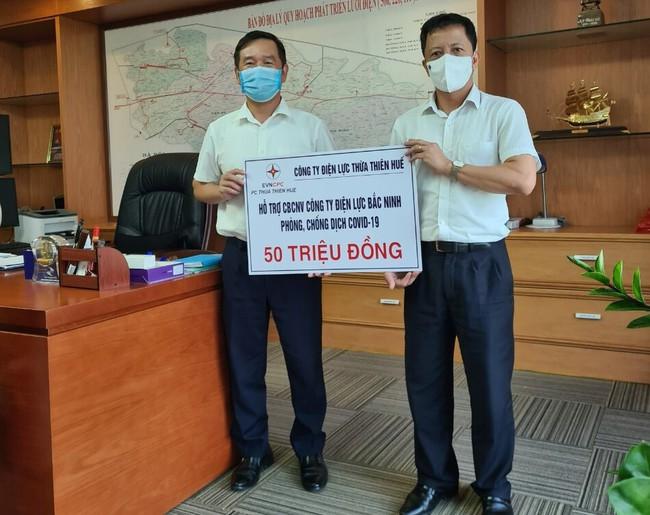 Điện lực Thừa Thiên Huế hỗ trợ Điện lực Bắc Ninh phòng chống dịch Covid-19   - Ảnh 1.