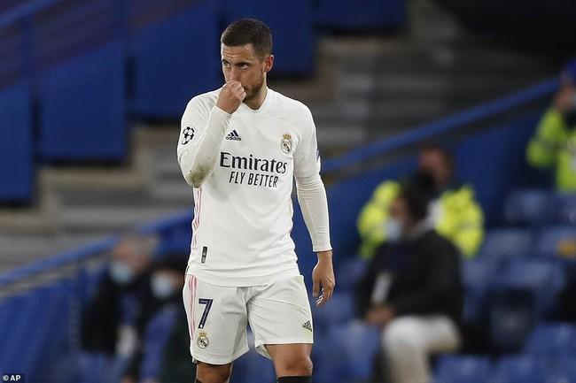 Hazard gây thất vọng trong trận bán kết Champions League.