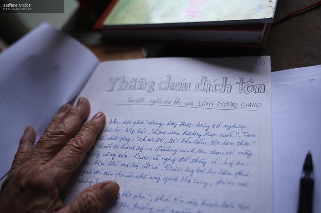 """Cụ ông 80 tuổi giấu vợ dự thi """"Làng Việt thời hội nhập"""": Viết truyện ngắn như đánh du kích - Ảnh 4."""