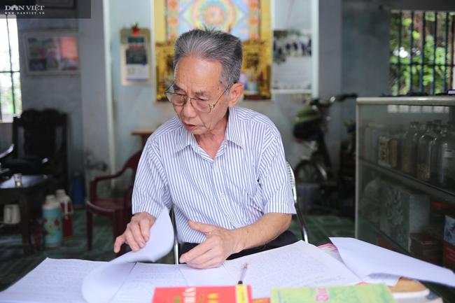 """Cụ ông 80 tuổi giấu vợ dự thi """"Làng Việt thời hội nhập"""": Viết truyện ngắn như đánh du kích - Ảnh 9."""