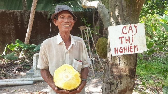 Giá mít Thái hôm nay 5/5: Lão nông miền Tây trồng mít không xơ đen, giá bán 40.000 đồng/kg - Ảnh 2.