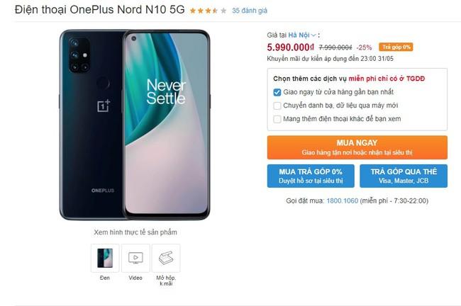 Smartphone 5G rẻ nhất Việt Nam giảm giá sốc, cơ hội không thể bỏ qua - Ảnh 6.
