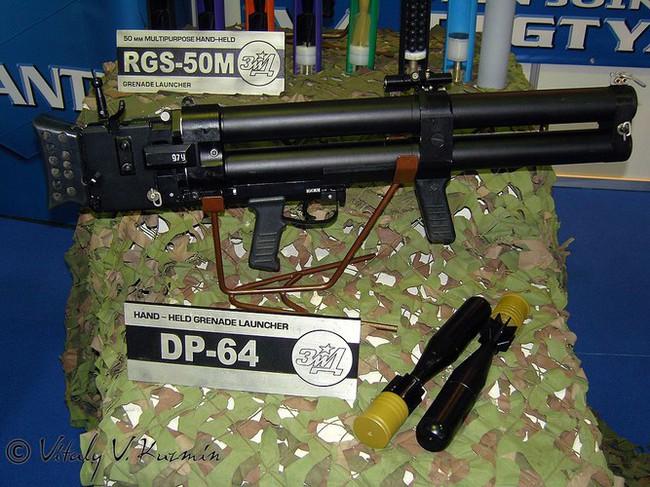 Có hay không súng phóng lựu hai nòng cực độc DP-64 trong biên chế Hải quân Việt Nam? - Ảnh 3.