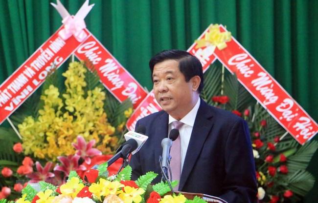 Ông Bùi Văn Nghiêm làm Bí thư Tỉnh ủy Vĩnh Long - Ảnh 2.
