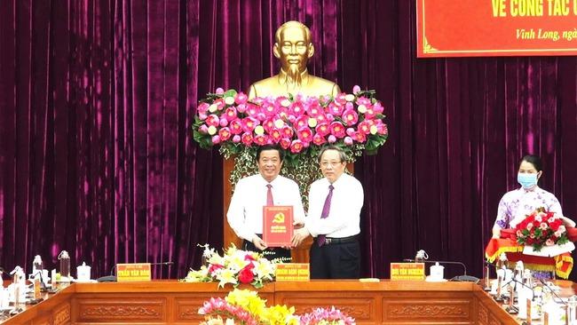 Ông Bùi Văn Nghiêm làm Bí thư Tỉnh ủy Vĩnh Long - Ảnh 1.