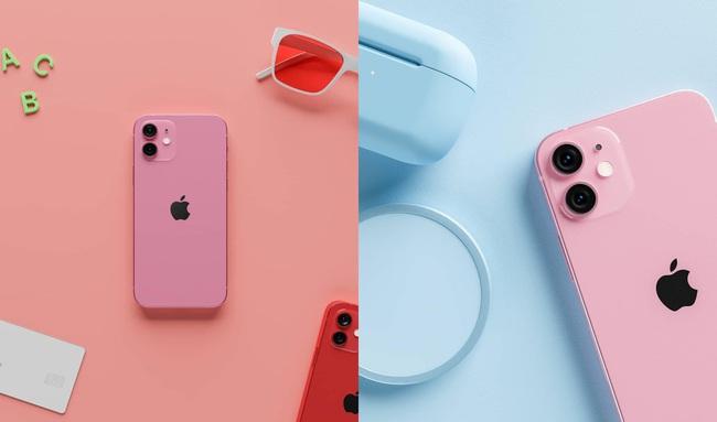 iPhone 13 lộ diện phiên bản màu hồng đẹp ngất ngây khiến tất cả phát cuồng - Ảnh 2.