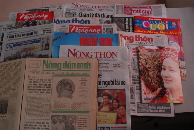 37 năm ngày Báo NTNN ra số đầu tiên: Tờ báo luôn sâu sát công việc, đời sống của nông dân - Ảnh 2.