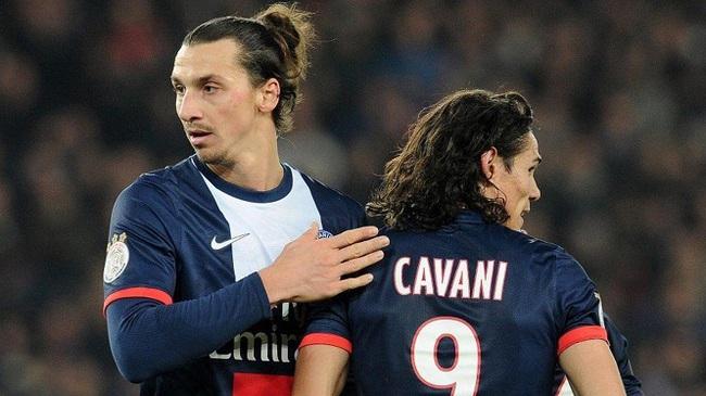 Cavani bị Ibrahimovic ghét khi còn ở PSG.