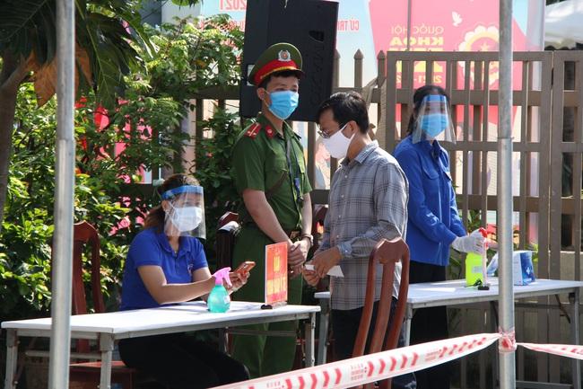 Nhiều ca mắc Covid-19 trong cộng đồng, Đà Nẵng diễn tập trước thềm bầu cử - Ảnh 7.