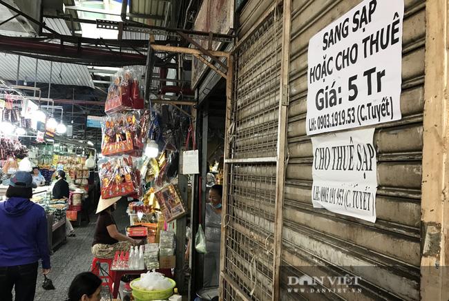 Chợ ế ẩm chưa từng thấy, kiến nghị chi 55 tỷ đồng hỗ trợ tiểu thương - Ảnh 3.