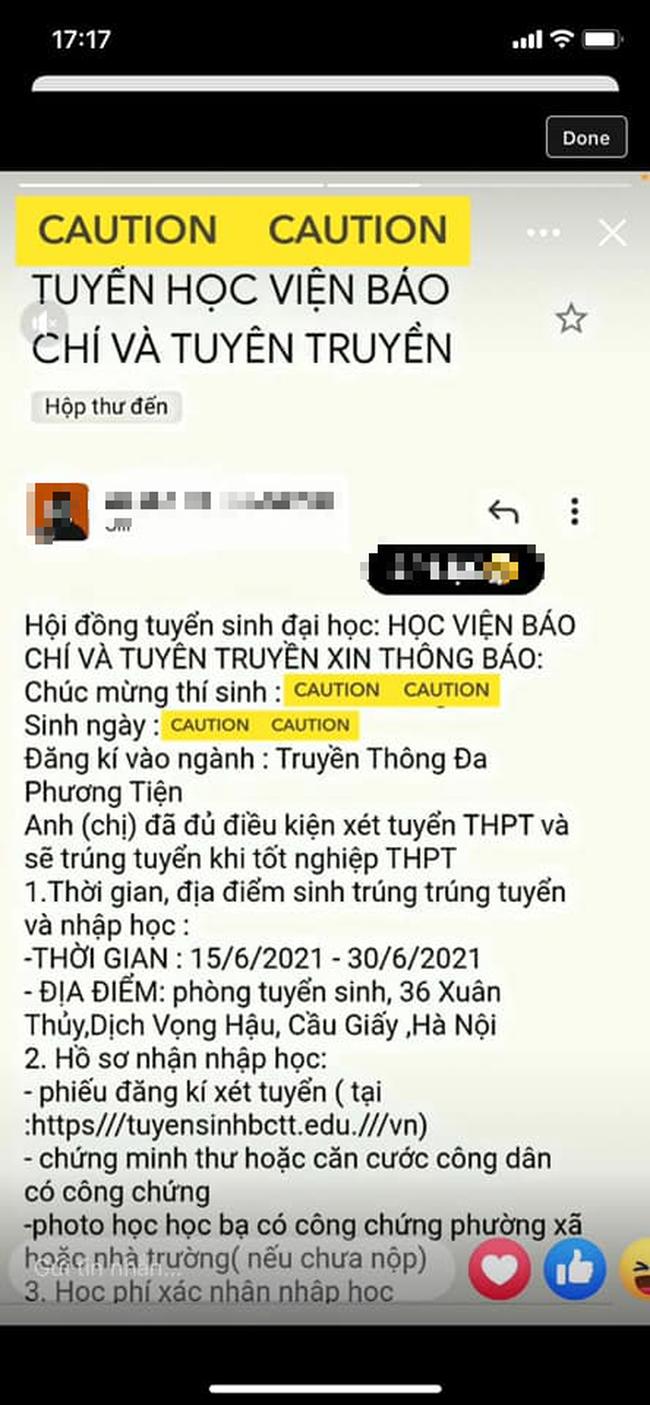 Cảnh báo email giả mạo ĐH Sư phạm Kỹ thuật TP.HCM lừa đảo sinh viên chuyển tiền  - Ảnh 2.