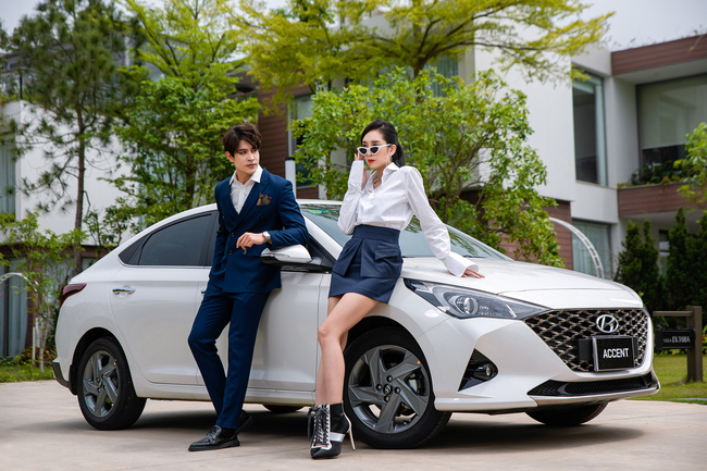 Huyndai công bố doanh số tháng 5: Hyundai Accent khẳng định vị thế, Santa Fe đột phá - Ảnh 1.