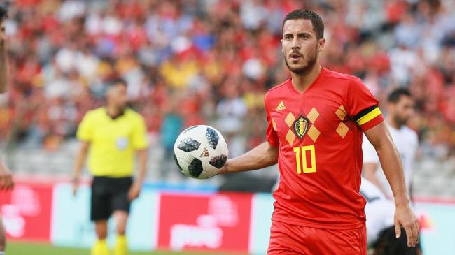 Hazard không còn vị thế số 1 ở tuyển Bỉ.