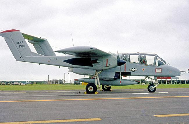 Máy bay độc lạ của Mỹ từng dùng trong Chiến tranh Việt Nam và Syria - Ảnh 2.