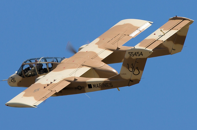 Máy bay độc lạ của Mỹ từng dùng trong Chiến tranh Việt Nam và Syria - Ảnh 4.