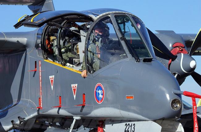 Máy bay độc lạ của Mỹ từng dùng trong Chiến tranh Việt Nam và Syria - Ảnh 7.