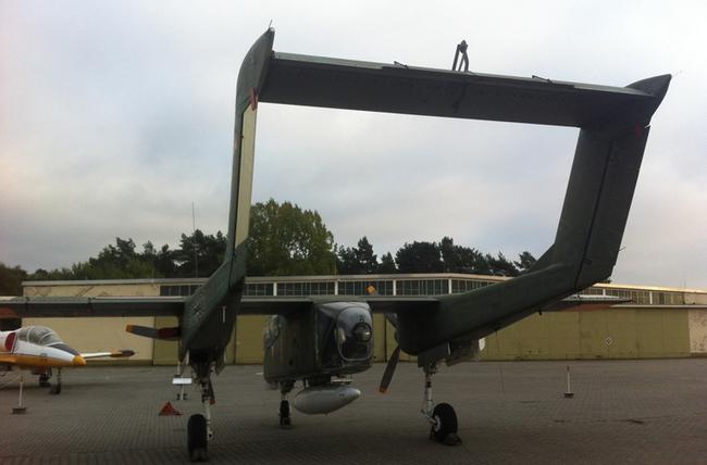 Máy bay độc lạ của Mỹ từng dùng trong Chiến tranh Việt Nam và Syria - Ảnh 9.