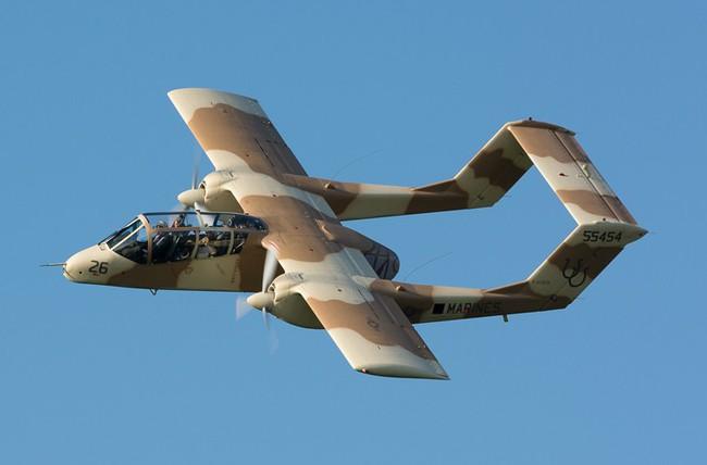 Máy bay độc lạ của Mỹ từng dùng trong Chiến tranh Việt Nam và Syria - Ảnh 10.