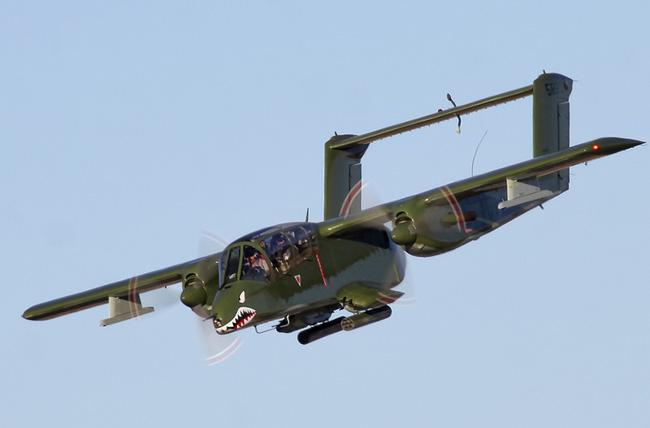 Máy bay độc lạ của Mỹ từng dùng trong Chiến tranh Việt Nam và Syria - Ảnh 12.