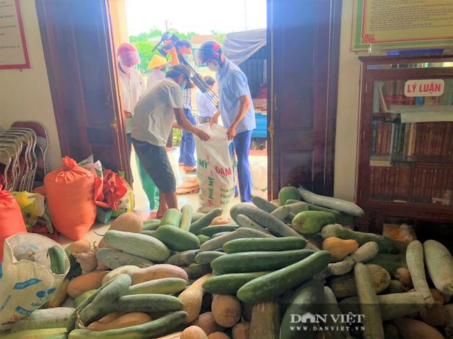 """Hơn 11 tấn nhu yếu phẩm nông dân (Hà Tĩnh) """"tiếp sức"""" khu cách ly - Ảnh 3."""