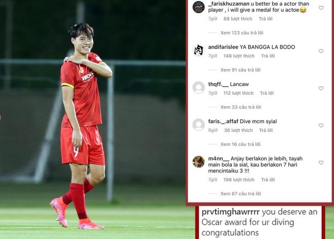 Văn Toàn tung thêm bằng chứng bị cầu thủ Malaysia phạm lỗi tinh vi - Ảnh 1.