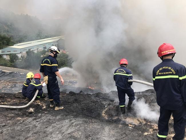 Cháy tại bãi rác lớn nhất Đà Nẵng  - Ảnh 2.