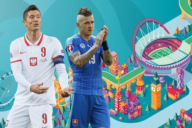 Xem trực tiếp Ba Lan vs Slovakia trên VTV6 - Ảnh 1.