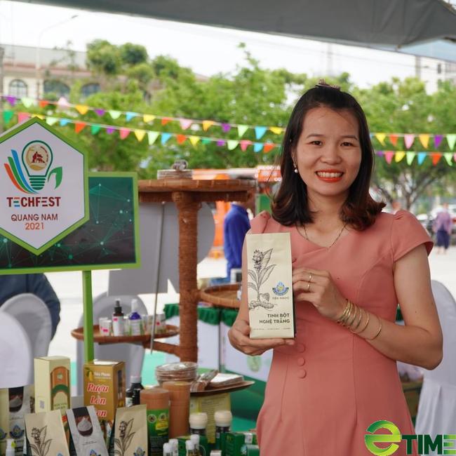 Quảng Nam: Sau khi sinh, cô gái xứ Tiên làm nên thương hiệu nghệ trắng nứt tiếng trên thị trường - Ảnh 4.
