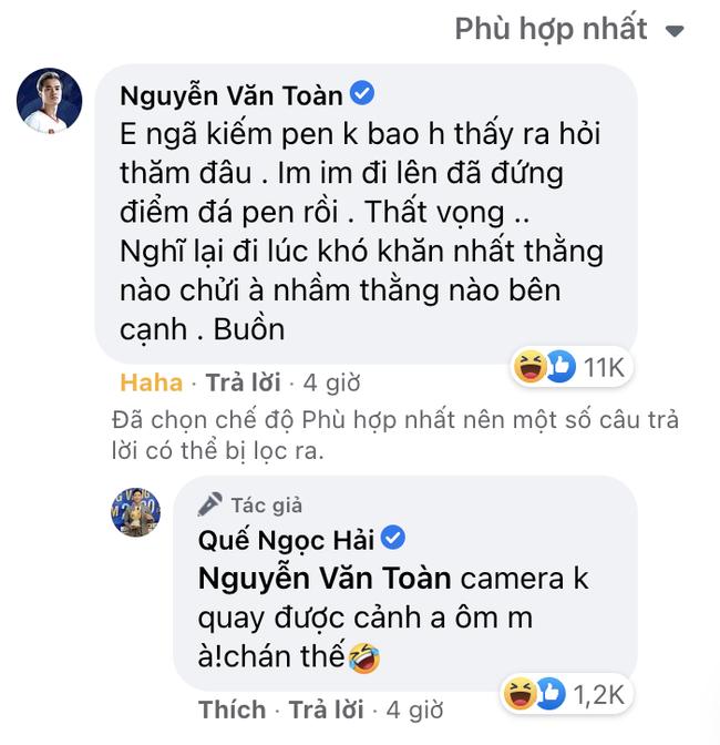 """Quế Ngọc Hải lại khoe ảnh ăn mừng, Văn Toàn bức xúc """"bóc phốt"""" - Ảnh 2."""
