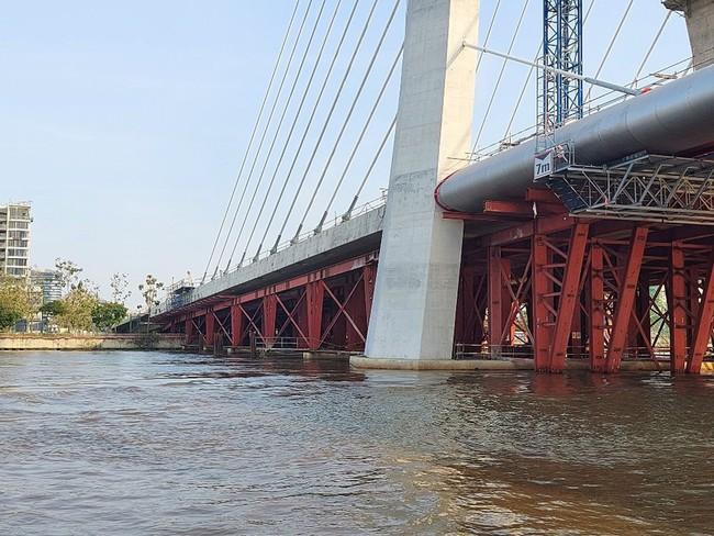 Cầu Thủ Thiêm 2 dự kiến sẽ hoàn thành dự án vào quý II/2022 - Ảnh 2.