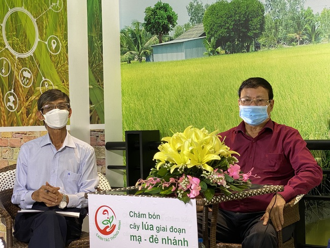 Tư vấn trực tuyến – một cách làm hay để chuyển giao kỹ thuật canh tác cho nông dân trồng lúa vùng ĐBSCL - Ảnh 3.