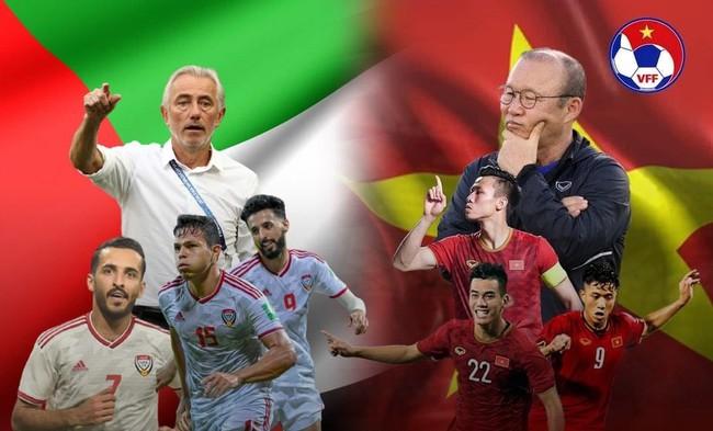 Xem trực tiếp Việt Nam vs UAE trên kênh nào? - Ảnh 1.
