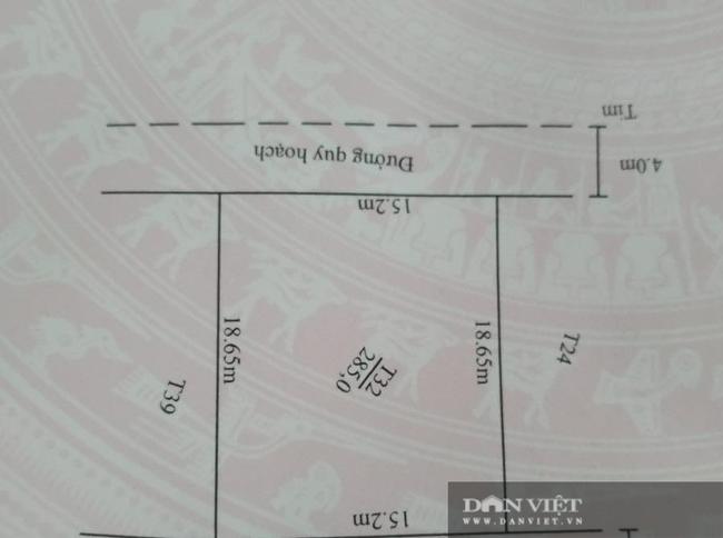 Vụ cắt xén đường và mương nước trong quy hoạch để bán đất: Báo cáo của UBND xã  - Ảnh 2.