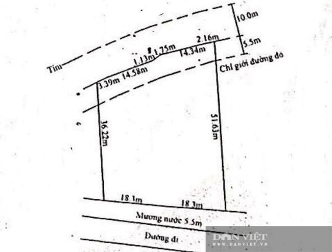 Vụ cắt xén đường và mương nước trong quy hoạch để bán đất: Báo cáo của UBND xã  - Ảnh 3.