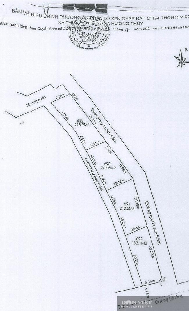 Vụ cắt xén đường và mương nước trong quy hoạch để bán đất: Báo cáo của UBND xã  - Ảnh 4.