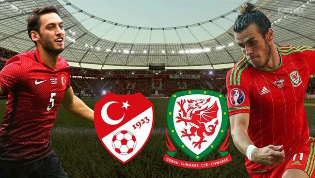Xem trực tiếp Thổ Nhĩ Kỳ vs xứ Wales trên VTV6 - Ảnh 1.