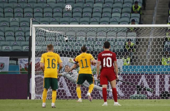 Bale bỏ lỡ một quả 11m.