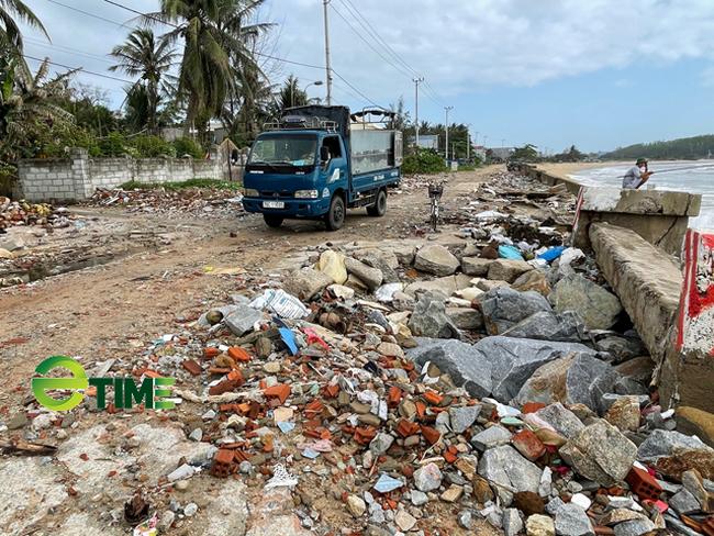 Quảng Ngãi: Đầu tư 85 tỷ xoá hiểm hoạ sóng cuốn nhà dân ra biển  - Ảnh 3.