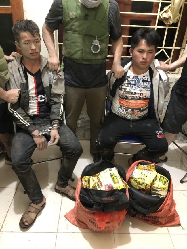 Điện Biên: Phá chuyên án 215T bắt 2 đối tượng, thu giữ 24 Kg ma túy   - Ảnh 1.