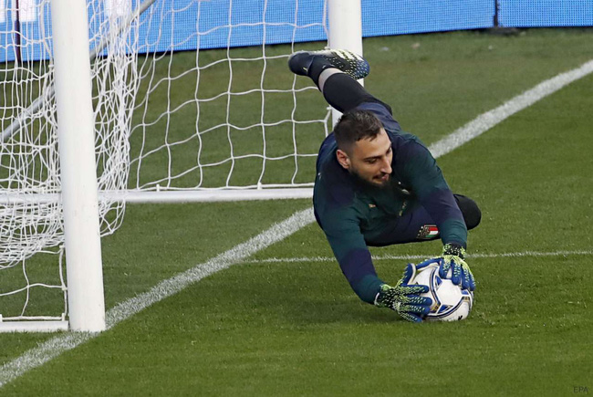 Donnarumma là thủ môn số 1 của Italia.