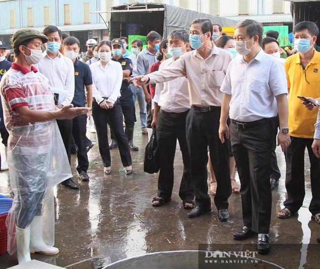 TP.HCM: Phát hiện trường hợp dương tính SARS-CoV-2 tại chợ đầu mối Bình Điền - Ảnh 1.