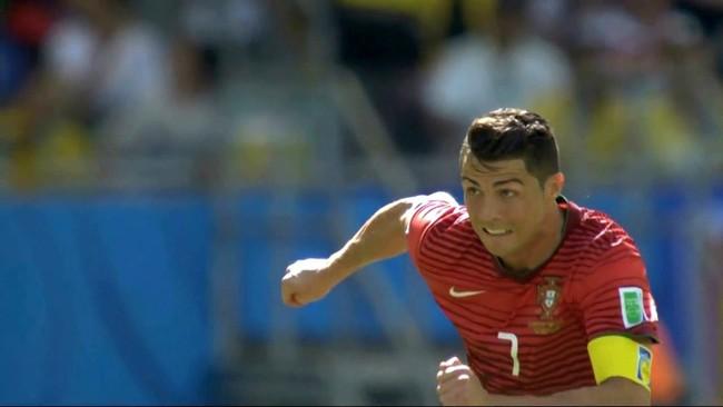 Clip: Cristiano Ronaldo chạy 100m trong 15 giây, phá lưới ĐT Đức - Ảnh 1.