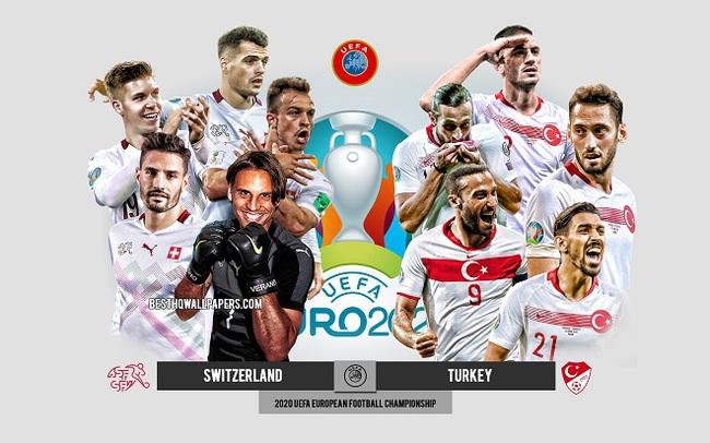 Link xem trực tiếp Thụy Sĩ vs Thổ Nhĩ Kỳ 23h00, bảng A EURO 2020 - Ảnh 1.