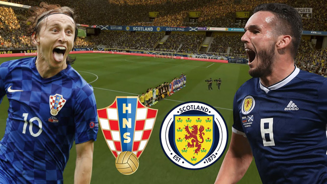 Xem trực tiếp Croatia vs Scotland trên VTV3 - Ảnh 1.