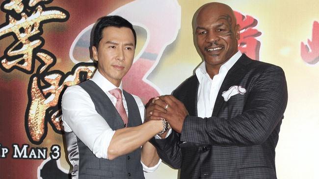 Ngôi sao võ thuật Chân Tử Đan tiết lộ tốc độ ra đòn của Mike Tyson - Ảnh 2.