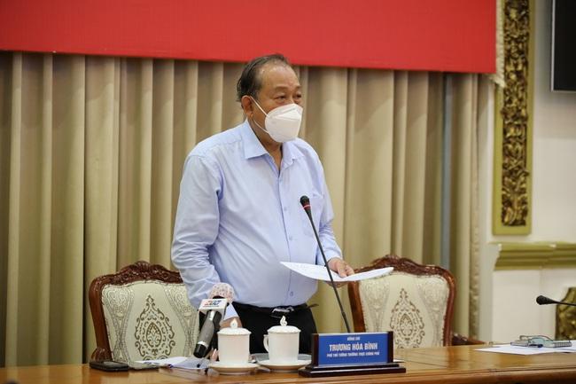 Phó Thủ tướng thường trực Trương Hòa Bình: Không để xảy ra tình trạng như ở Nhà thi đấu Phú Thọ - Ảnh 1.