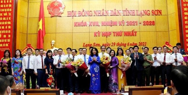 Chủ tịch Lạng Sơn tái cử với 100% phiếu bầu - Ảnh 2.