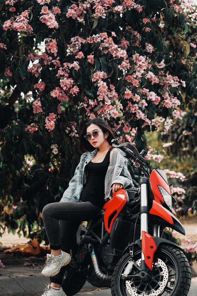 Hot girl mô tô phân khối lớn Phạm Ngọc Mai chia sẻ về hành trình khóc sau tay lái - Ảnh 7.