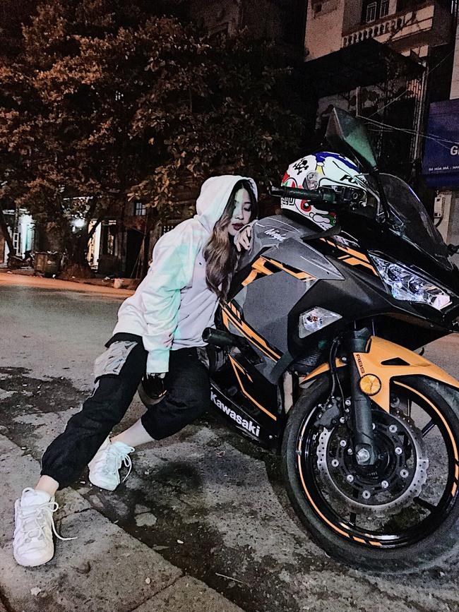 Hot girl mô tô phân khối lớn Phạm Ngọc Mai chia sẻ về hành trình khóc sau tay lái - Ảnh 18.